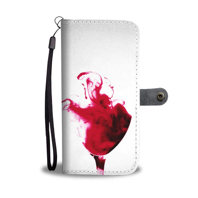 Wine Glass Wallet Phone Case