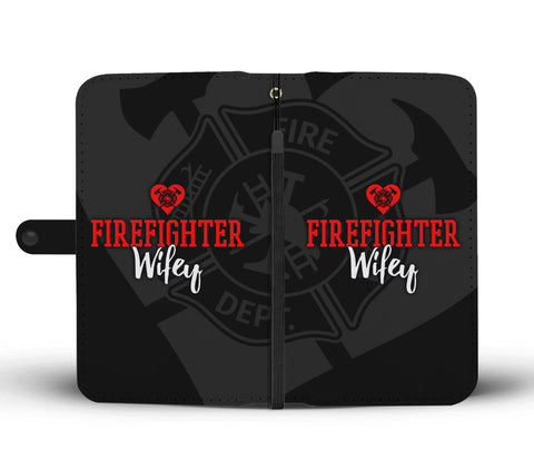 Firefighter Wifey Wallet Phone Case