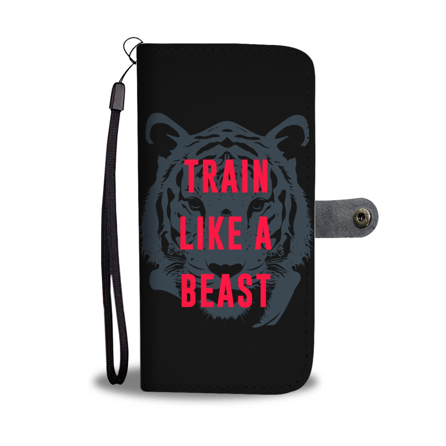 Train Like A Beast Wallet Phone Case