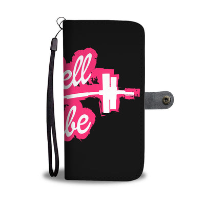 Barbell Babe Wallet Phone Case