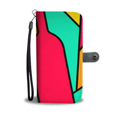Wine Abstract Wallet Phone Case
