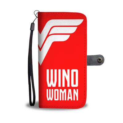 Wino Woman Wallet Phone Case