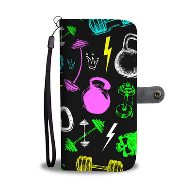 Grunge Fitness Wallet Phone Case
