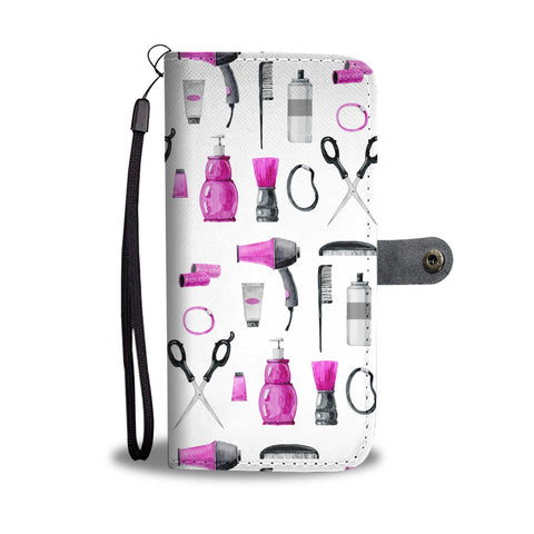 Hair Accessories Wallet Phone Case