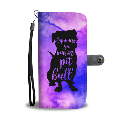 Happiness Is A Warm Pit Wallet Phone Case