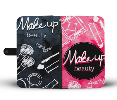 Make Up Beauty Wallet Phone Case