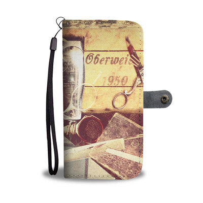 Vintage Barber Wallet Phone Case