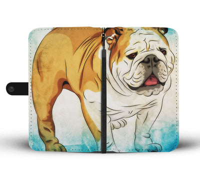 Big Bull Wallet Phone Case - bulldog bestseller