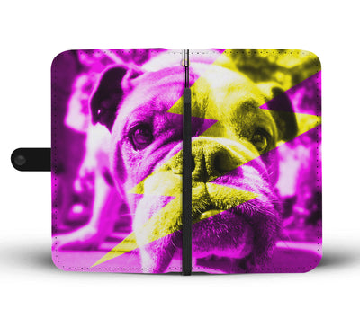 Lightning Bull Wallet Phone Case