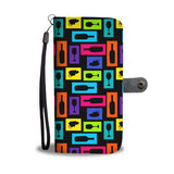 Colorful Wine Wallet Phone Case