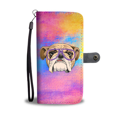 Cool Bulldog Wallet Phone Case