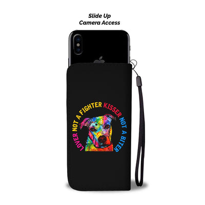 Lover Pit Bull Wallet Phone Case