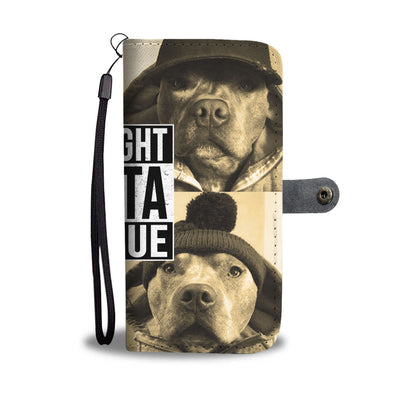Straight Outta Rescue Wallet Phone Case