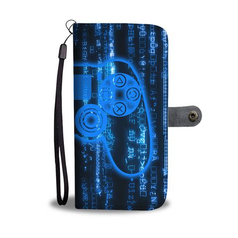 PS Matrix Wallet Phone Case