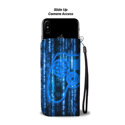 PS Matrix Wallet Phone Case - gaming bestseller