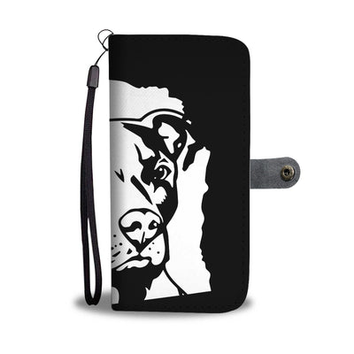 Wisconsin Pit Bull Wallet Phone Case