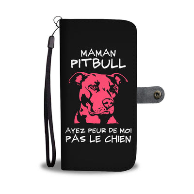 Maman Pit Bull Wallet Phone Case