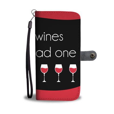 In Dog Wines Wallet Phone Case