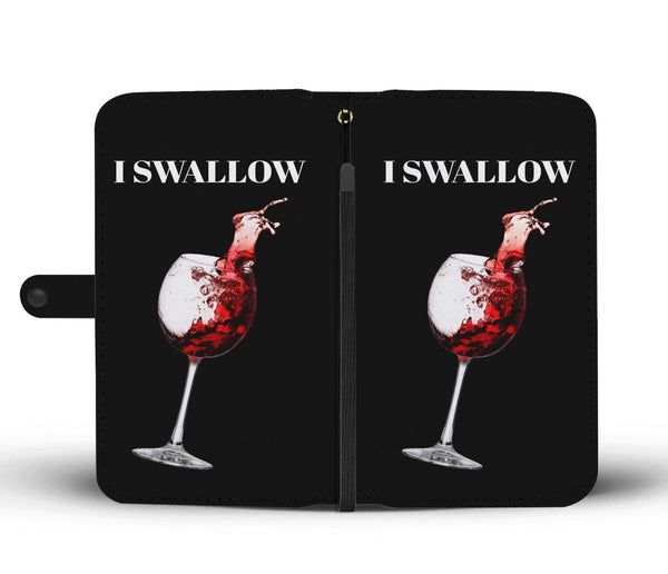 I Swallow Wallet Phone Case