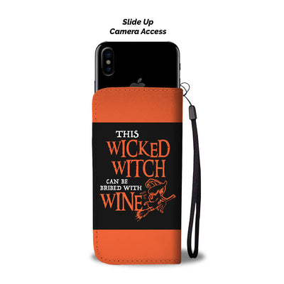 Wicked Witch Wallet Phone Case