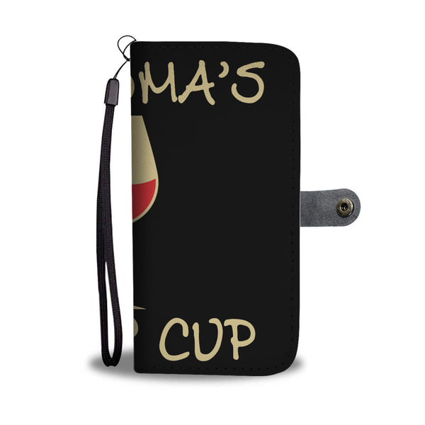 Grandma's Sippy Cup Wallet Phone Case