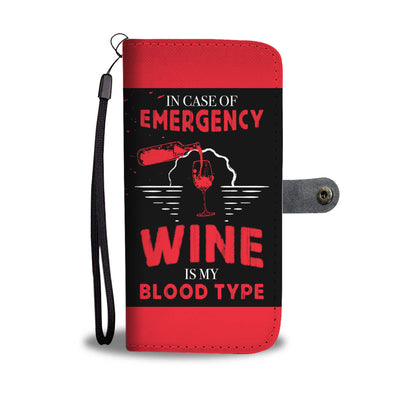 In Case of Emergency Wallet Phone Case