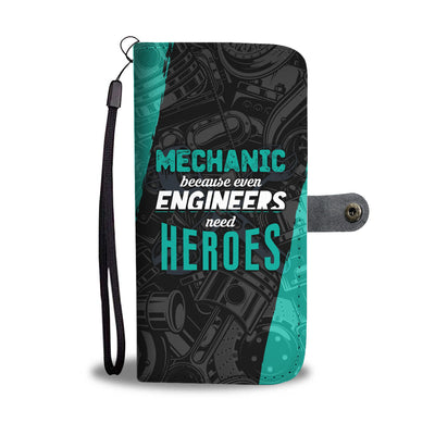 Engineers Need Heroes Wallet Phone Case
