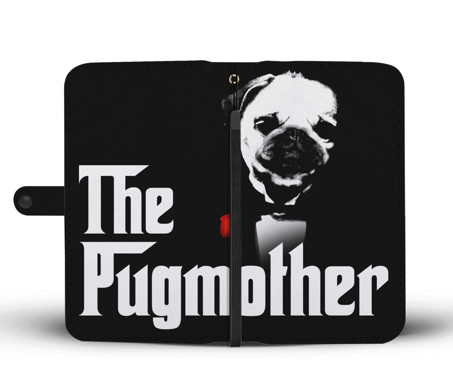 The Pugmother Wallet Phone Case