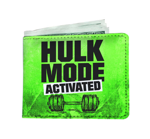 Hulk Mode Men's Wallet