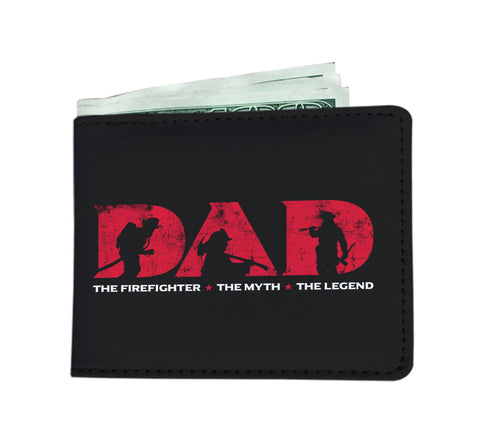 Firefighter Dad Wallet