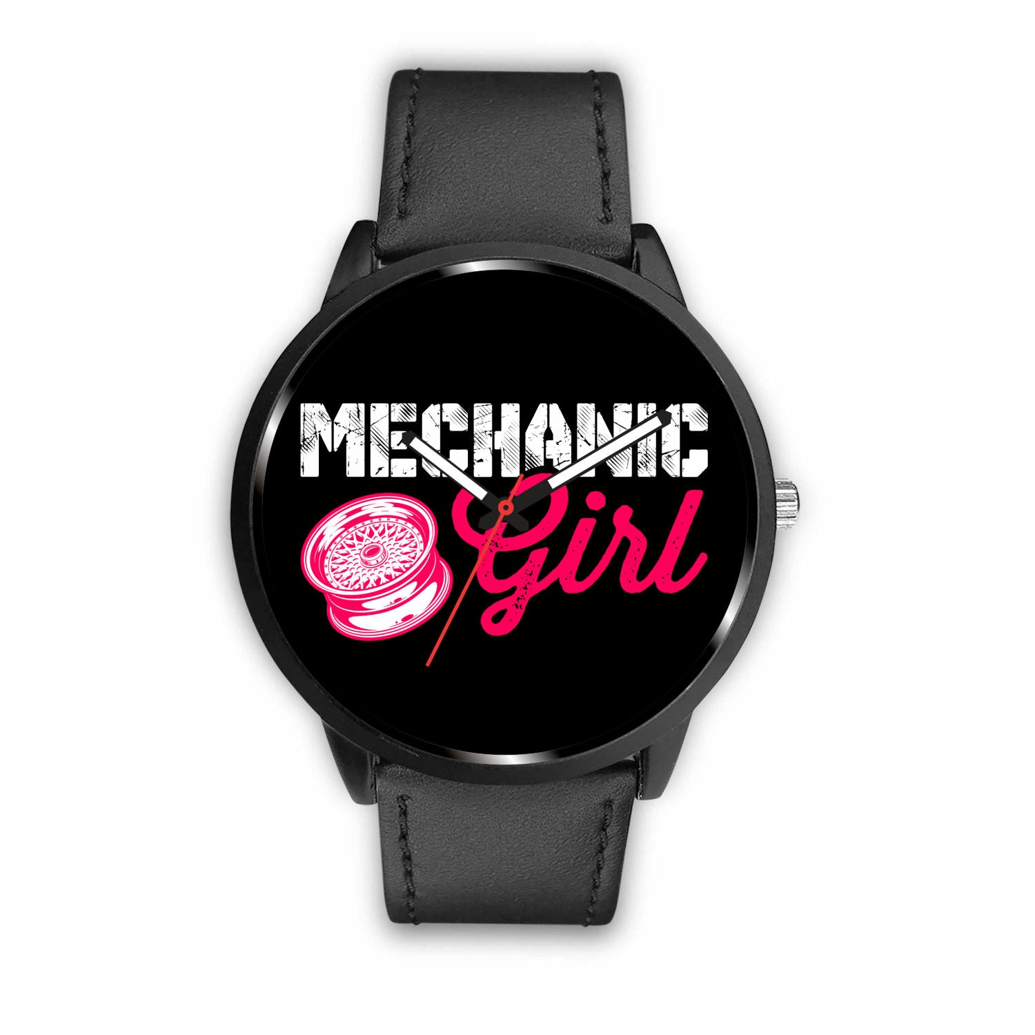Mechanic Girl Watch