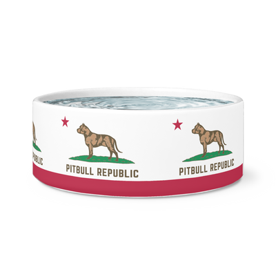 Pitbull Republic Dog Bowl