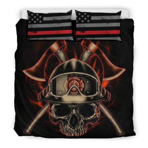 Proud Firefighter Bedding Sheet