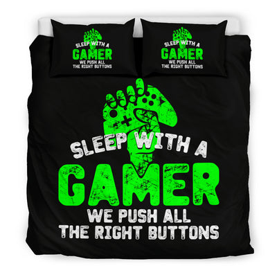Sleep With A Gamer XB Bedding Set