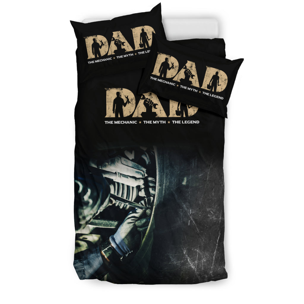 Mechanic Dad Bedding Set