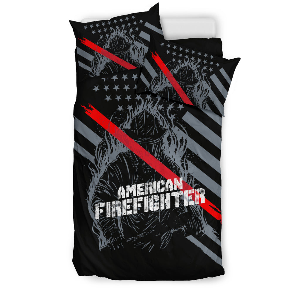 American Firefighter Bedding Set - firefighter bestseller