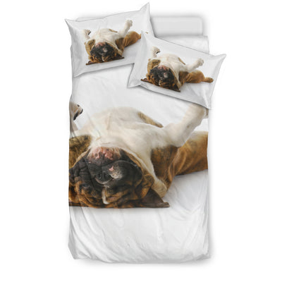 Sleepy Bulldog Bedding Set