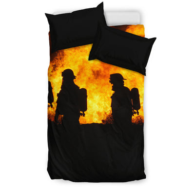 Firefighters Bedding Set