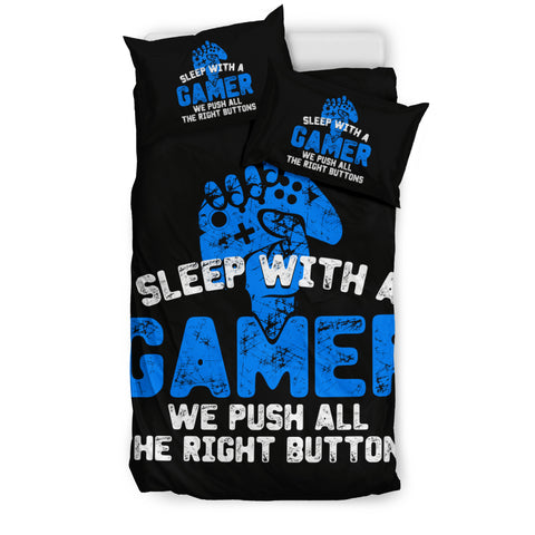 Sleep With A Gamer PS Bedding Set