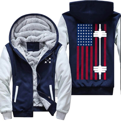 American Flag - Barbell Jacket