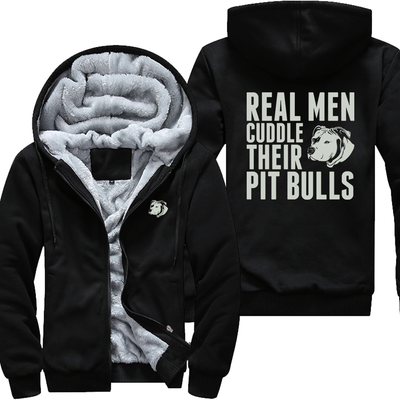 Real Men Cuddle Their Pitbulls - Jacket
