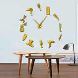 Hair Stylist Giant Wall Clock