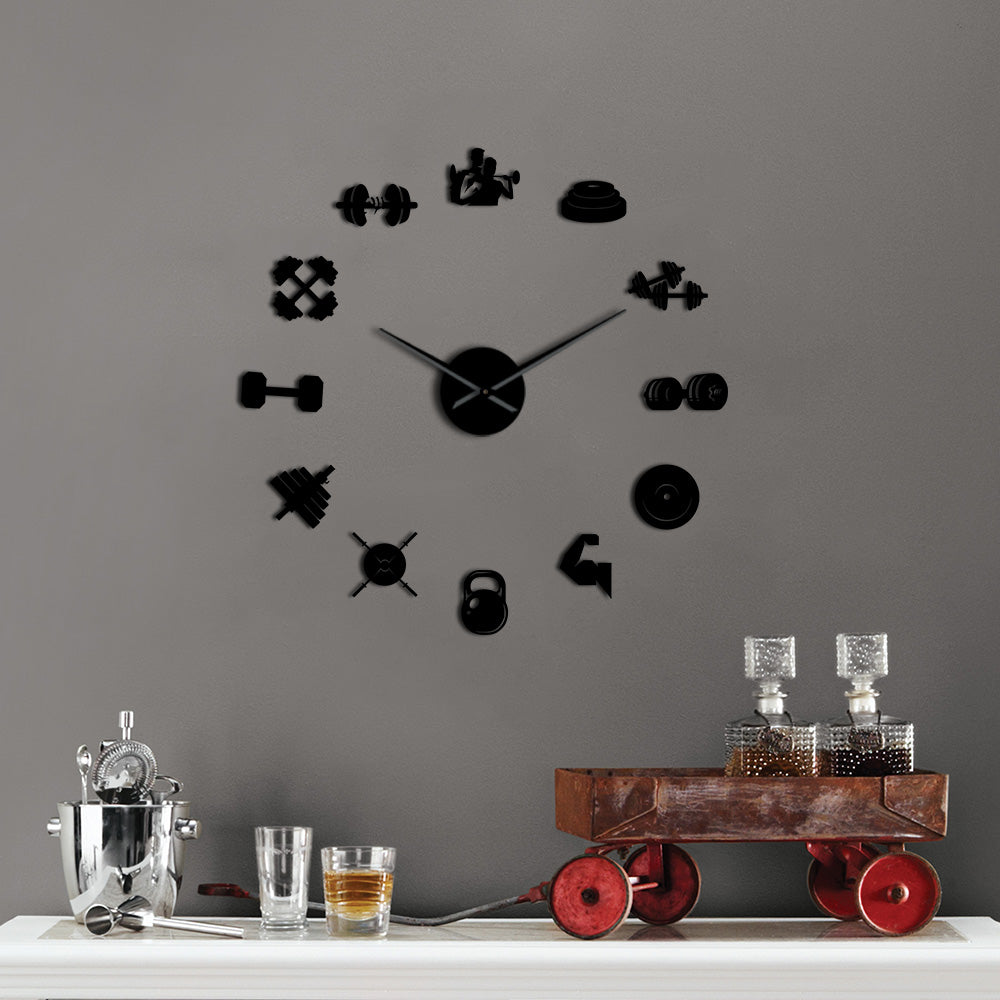 Fitness Giant Wall Clock