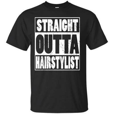 Straight Outta Hairstylist - Apparel