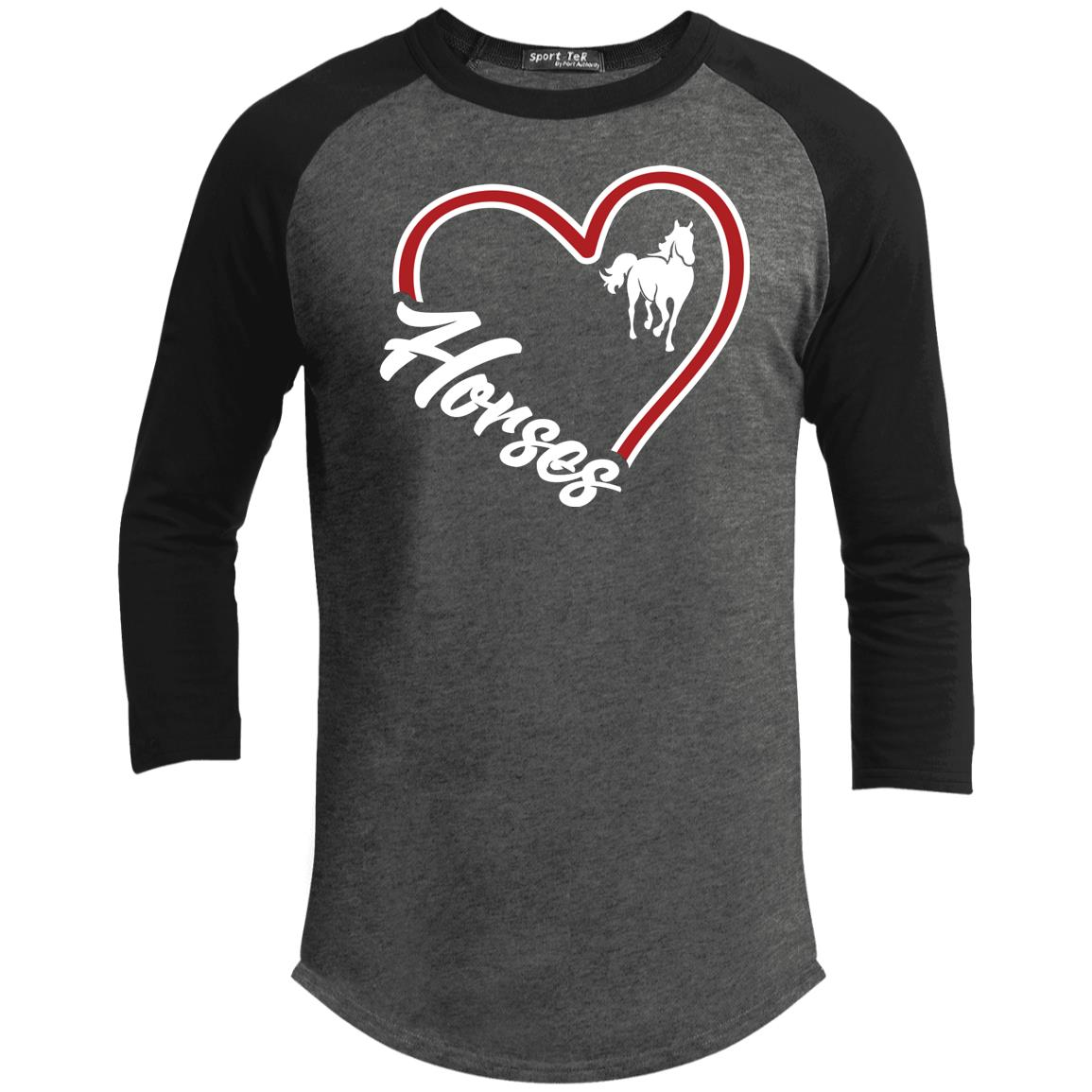 Love Horses Sporty T-Shirt