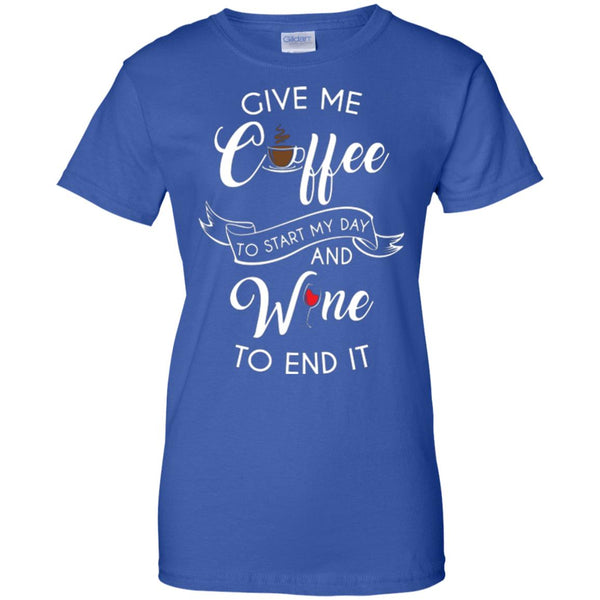 Give Me Coffee and Wine