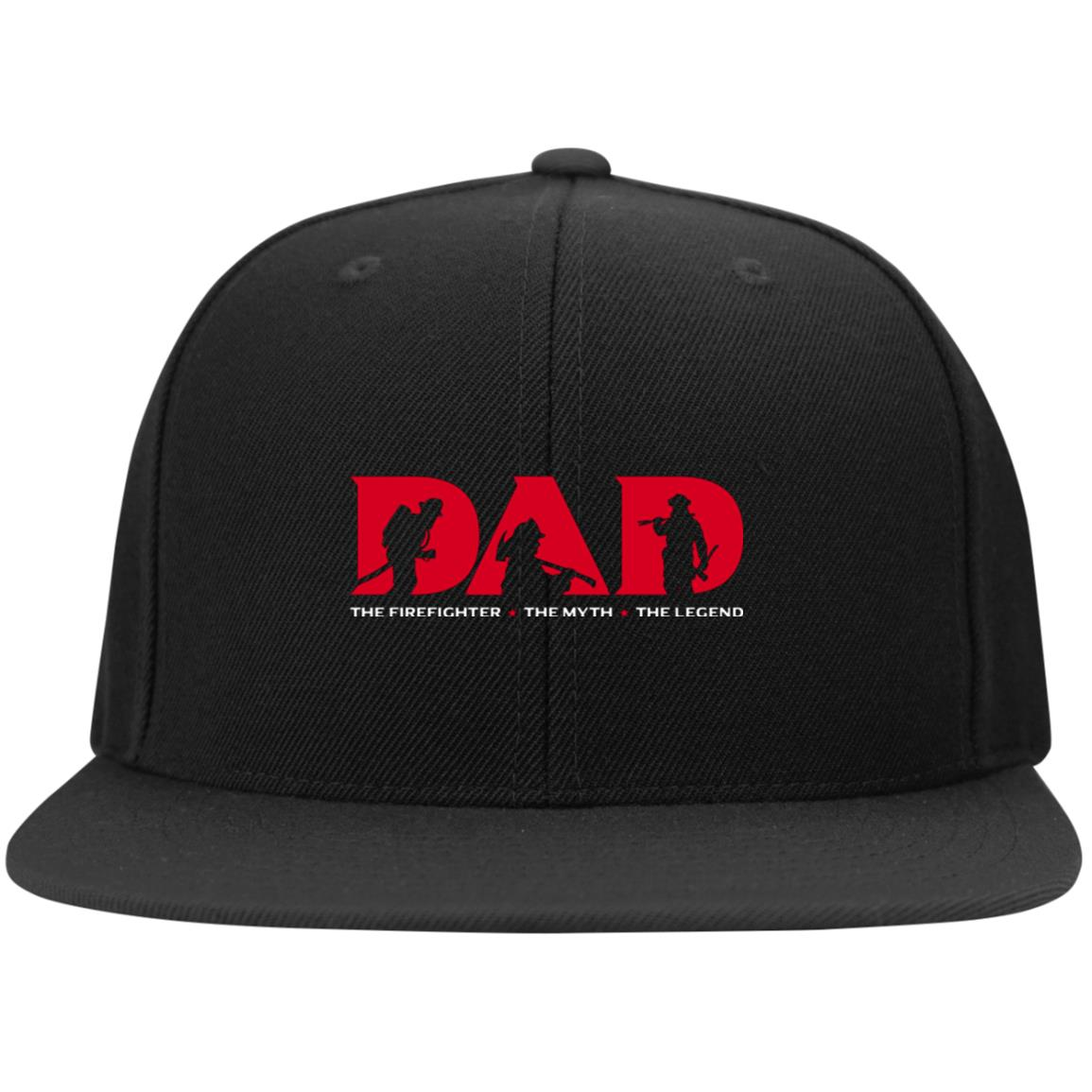 Firefighter Dad Snapback Hat - firefighter bestseller