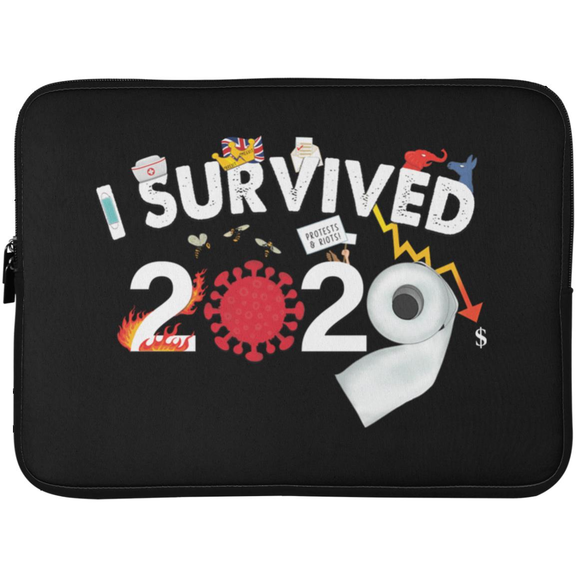 I Survived 2020 - Laptop Sleeve - 15 Inch
