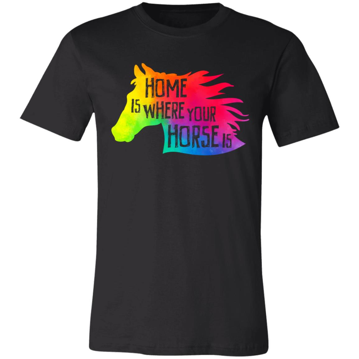 Home Is Where Yout Horse Is T-Shirt 2
