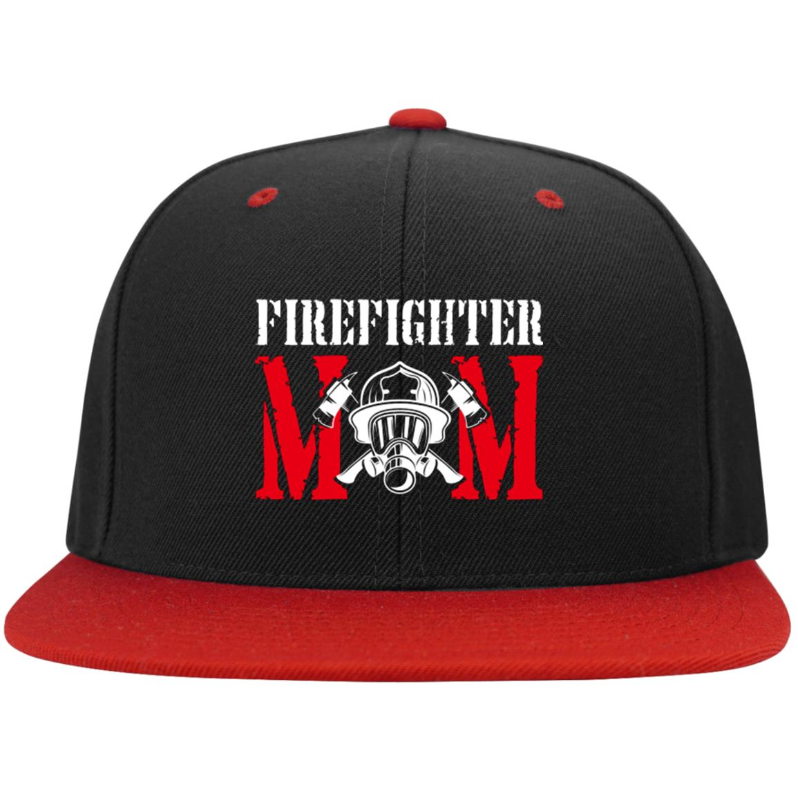 Firefighter Mom Snapback Hat